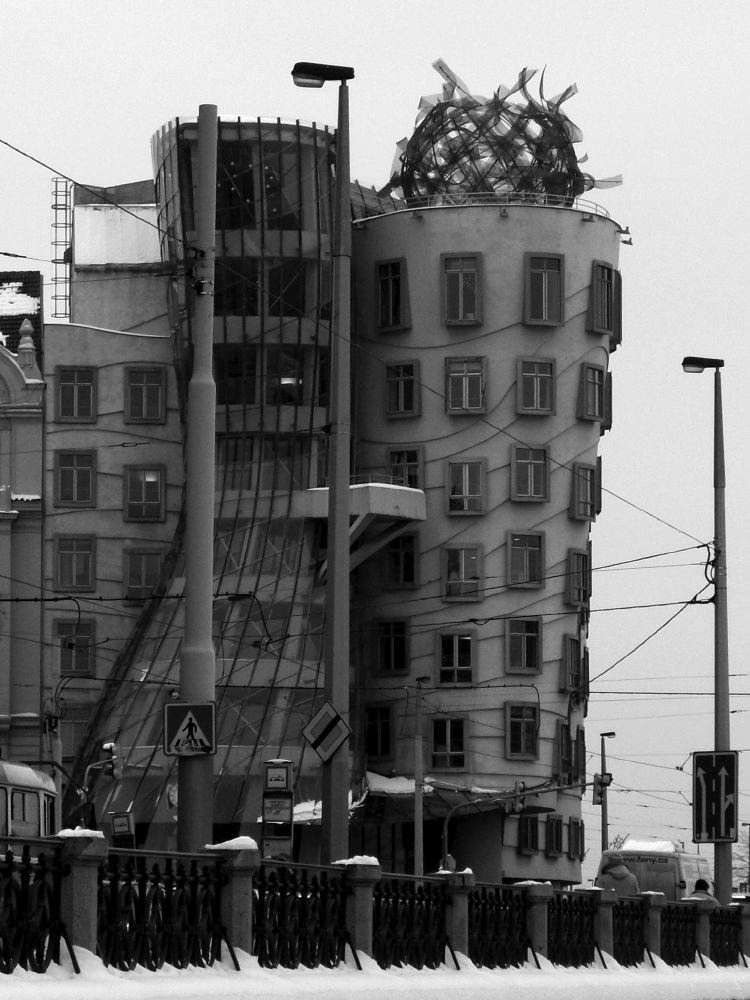 prague  - The dancing house